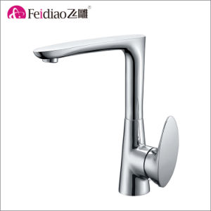 Modern Design Hot Sall Good Quality Single Handle Kitchen Faucet pictures & photos