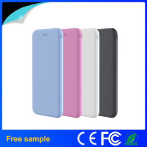 Super Slim Portable 4000mAh Power Bank pictures & photos
