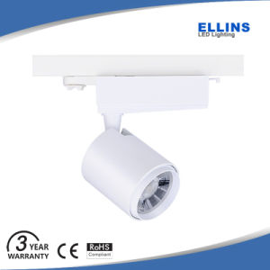 3200lm Shop Gallery Museum 30W COB LED Track Lighting pictures & photos