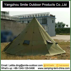Outdoor Large Family Hiking Camping Waterproof 10-Person Teepee Tent Camping pictures & photos