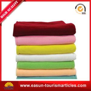 Factory 100 Polyester Polar Fleece Blanket pictures & photos