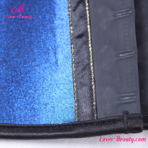 Gilding Blue Strench Waist Trainers pictures & photos