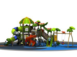 Children Outdoor Playground Slide and Spiral Slide Children Outdoor Playground (YL-L169) pictures & photos