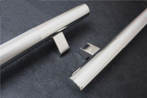 Mirror Chrome Color Stainless Steel Hingesdoor Fitting Straight H Handle pictures & photos