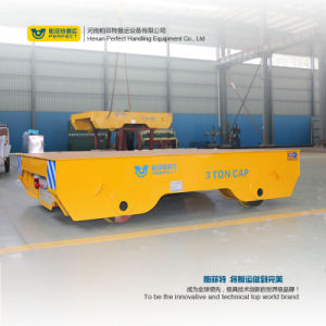 Steel Cutting Production Line Using Electric Flat Carts pictures & photos