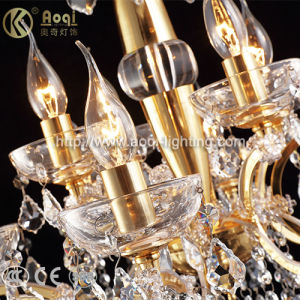 Hot Sale Golden Crystal Chandelier Light pictures & photos