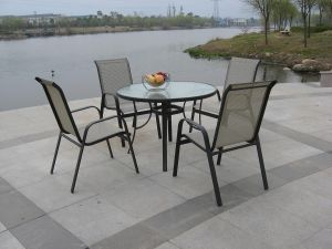 Outdoor Metal Table and Chair Set pictures & photos