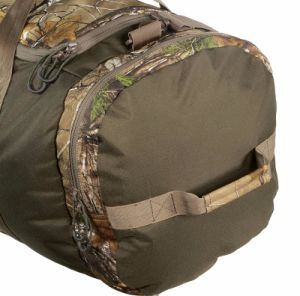 2017 High Quality Adjustable Removable Shoulder Strap Hunting Gear 600d Realtree Xtra Travel Military Hunting Duffle Bag pictures & photos