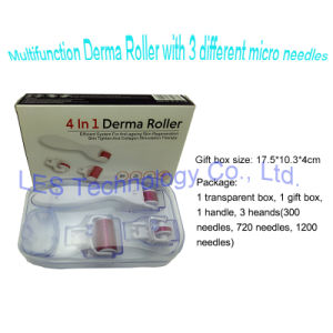 4 in 1 Derma Roller Skin Care Product Micro Needle Roller pictures & photos