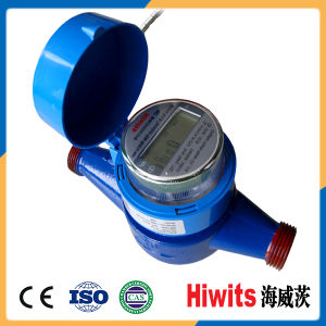 Hiwits Single-Jet Vane Wheel Dry-Dial Water Meter pictures & photos