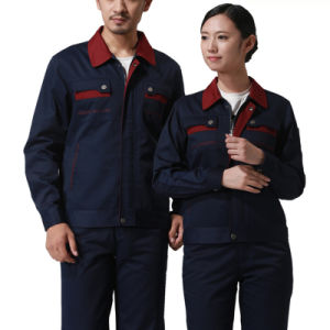Wholesale Working Clothes Cotton Long Sleeves Safety Workwear pictures & photos
