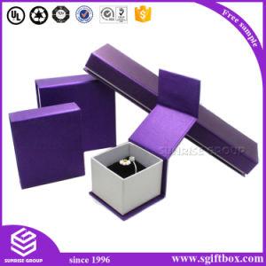 Customized Luxury Handmade Pacakging Set Velvet Jewelry Box pictures & photos