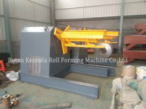 Kxd Hydraulic Automatic Decoiler with Car for Sale pictures & photos