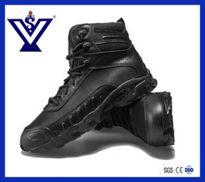 New Arrival Skid Resistance Tactical Military Combat Boots (SYSG-114) pictures & photos