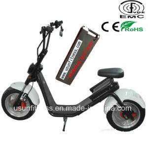 2018 New Aluminum Alloy Wheel Electric Motorycle Scooter with Remove Battery pictures & photos