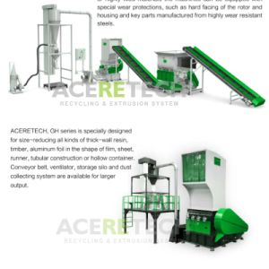 High Efficient Crusher/Granulator for Film/Sheet/Runner/Tubular Construction pictures & photos