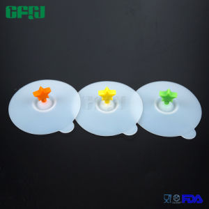 Food Grade Silicone Star Cup Lid Mug Cover pictures & photos
