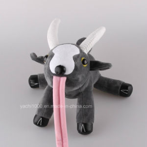 Factory Making Plush Toys Goat for Claw-Machine pictures & photos