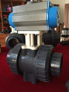 DIN BS ANSI JIS Standard PVC True Union Ball Valve pictures & photos