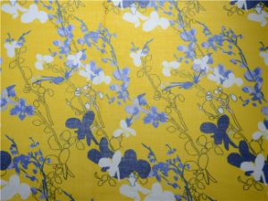 High Quality Custom Digital Printing Ramie Cotton Fabric (DSC-4120) pictures & photos