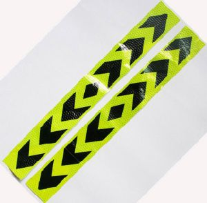 5X40cm Aveolate Bothway Arrow Reflective Tape Sticker Safe Warning Sign Car Construction Road Symbol Crash Guard etc pictures & photos