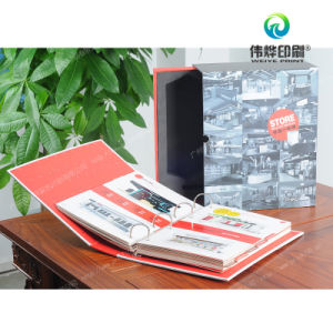 Paper Printing Promotional Packaging Box with Folder pictures & photos