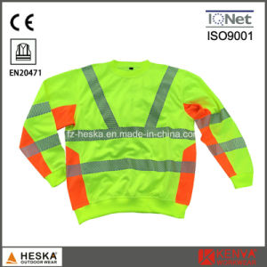 Heat Transfer Tape En20471 Safety Long Shirt pictures & photos