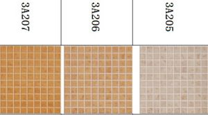 Three Color - Rustic Floor Tiles