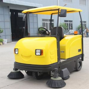 Factory Use Electric Road Street Sweeper for Sale pictures & photos