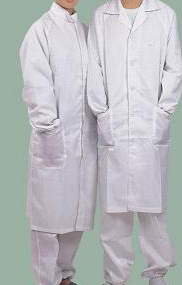Antistatic Work Smock, ESD Cleanroom Protective Gown pictures & photos