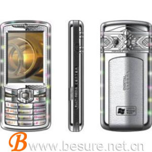 Dual Cards Dual Standby, Quad Band Music Marpuee Mobile Phone (BS-021)