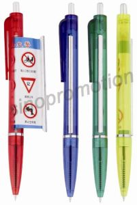 Plastic Promotional Banner Pen (GP2412) pictures & photos