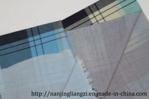 50s High Density Double Layer Check Cotton Fabric pictures & photos