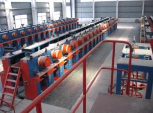 Spool Double Capstan for Heat Treatment Line