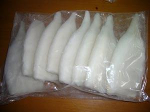 Frozen Squid Tube, Squid Ring, Pacific Squid