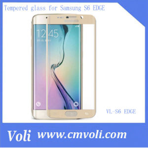 Screen Protector Tempered Glass for Samsung Galaxy S6 Edge pictures & photos
