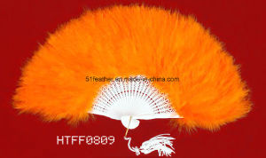 Handmade Ostrich/Goose Feather Party Fans pictures & photos