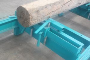 Portable Wood Cutting Plank Horizontal Band Sawmill Mobile Sawmill pictures & photos