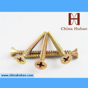 Single Thread Chipboard Screw pictures & photos
