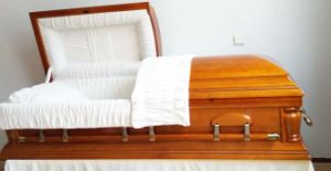 Wooden Casket America Style Manufacture