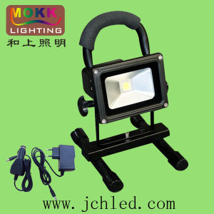 CE RoHS Good Quality with Portable Holder and Battery 10W LED Emergency Light