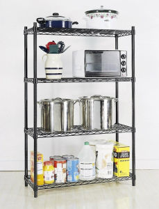 4 Tiers Chrome Wire Shelving pictures & photos