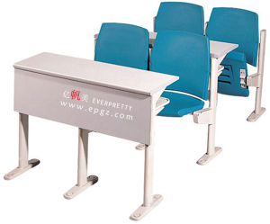 Factory Superior Grade School Desh with Attached Chair School Desk with Attached Chair pictures & photos