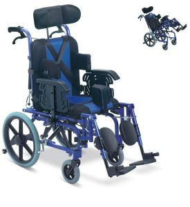 Aluminum Manual Folding Cp Wheelchair pictures & photos
