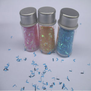 V Shape Glitter for Nail Art