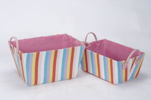 Storage Basket-Paper Fabric Storage Basket (SPE-11127)