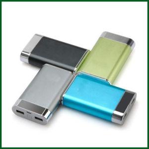 8000mAh Factory OEM Aluminium Portable Mobile Power Bank