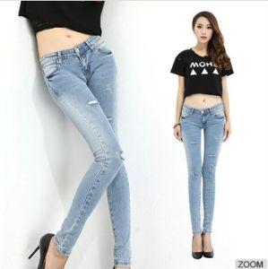 Fashion Unique Cheap Jeans Wholesalers for Women pictures & photos