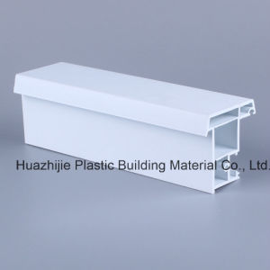 Plastic UPVC Extrusion Profile for Sliding Doors and Windows Made in China Top Quality