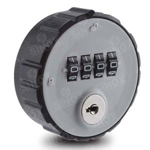4 Dials Scramble Locking Resettable Combination Cabinet Lock with Decode Function pictures & photos